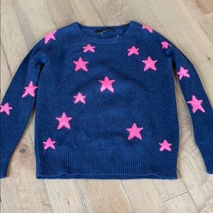 Cashmere star sweater